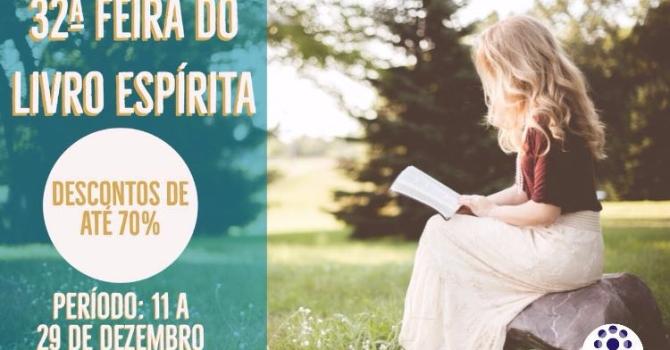 XXXII Feira do Livro Espírita da FEPI começa nesta segunda-feira (11)